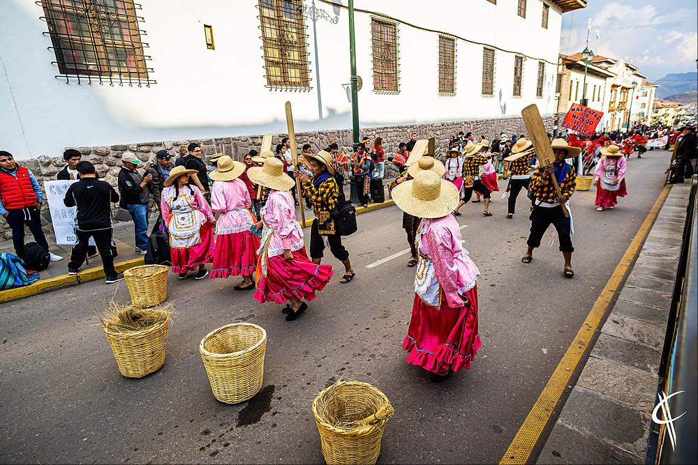 Parade, Cusco