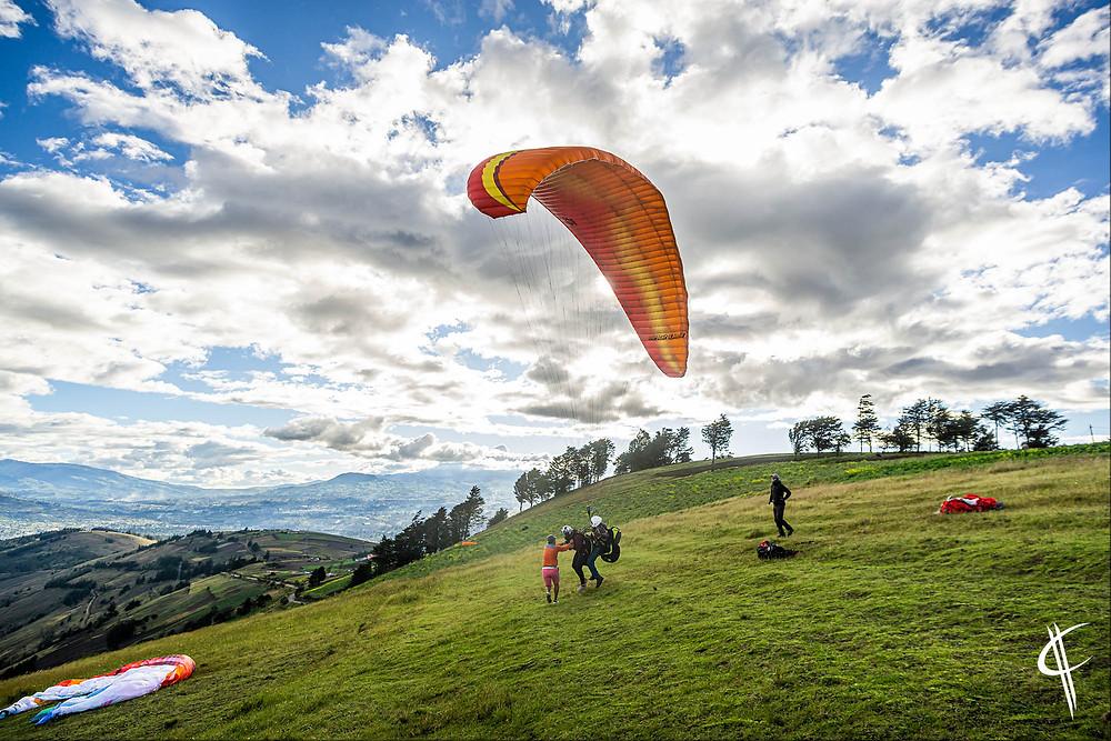 Paragliding (Baños)