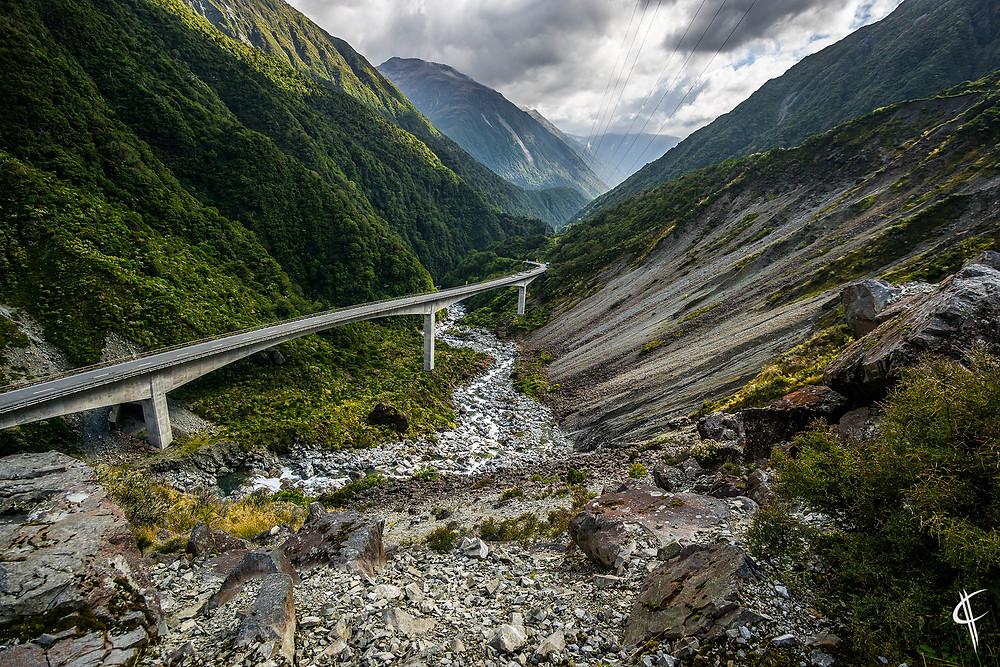 Arthur's Pass / Otira Viadukt