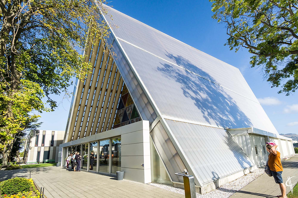 """""""Cardboard Cathedral"""" (Christchurch transitional)"""