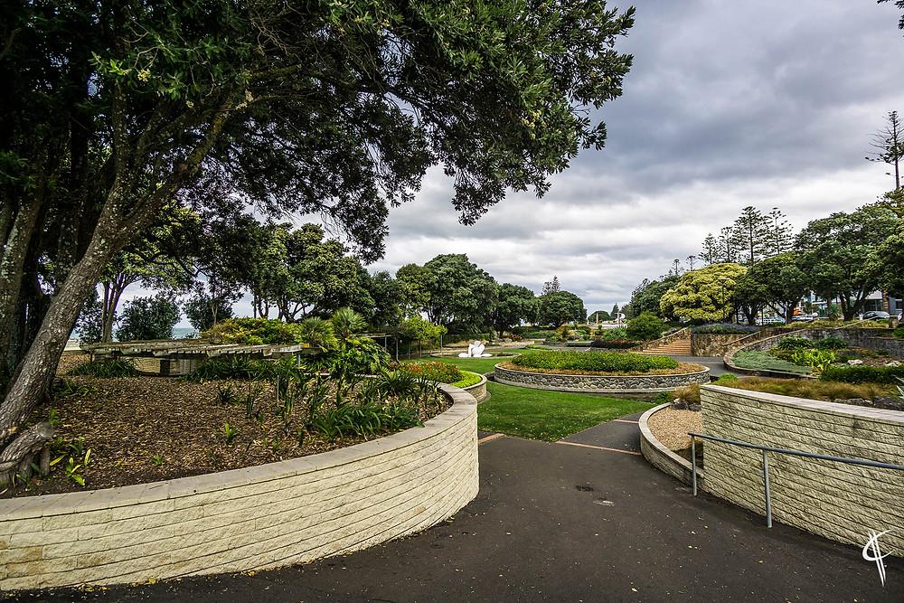 Sunken gardens, Napier