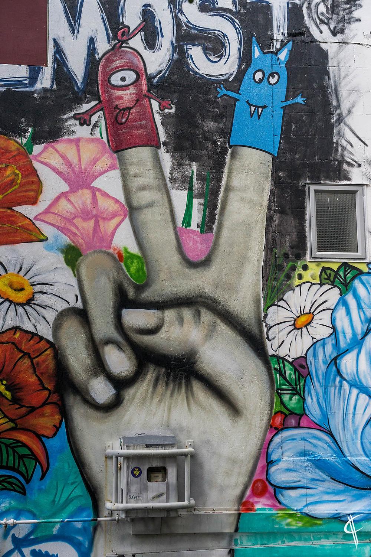 Street Art, New Plymouth