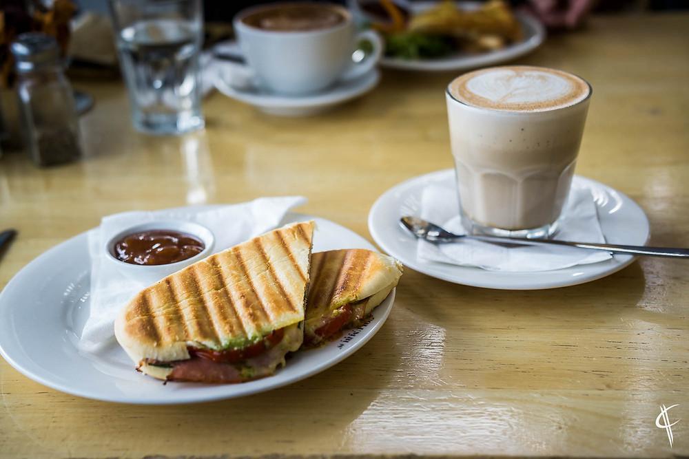 Breakfast at Columbus Coffee Newtown