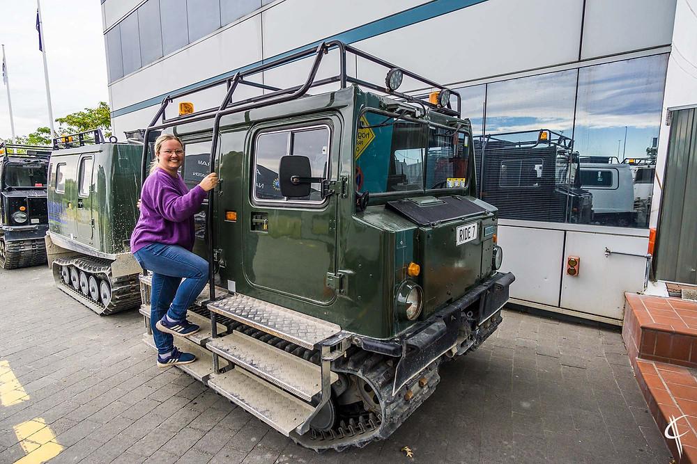 Ride @ International antarctic centre