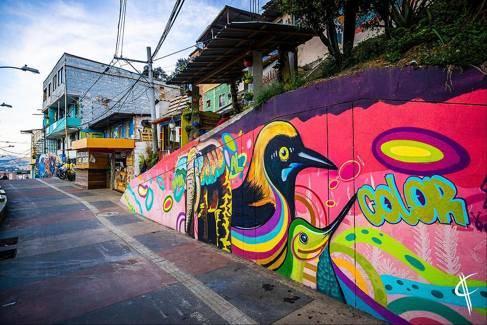 Streetart, Comuna 13