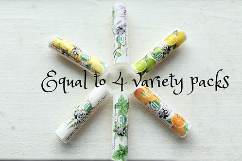 BULK BUY - Variety Pack (TWENTY-FOUR .18oz tubes)