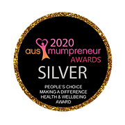 SILVER MAKING A DIFFERENCE HEALTH AWARD.