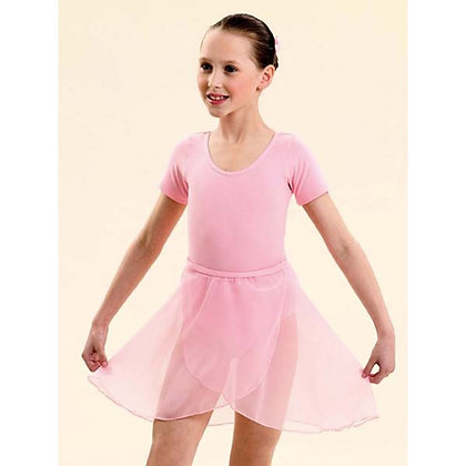 1st Position voile wrap over skirt- Pink