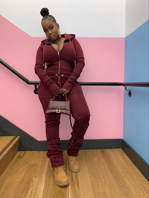 Stacked Sweatsuit