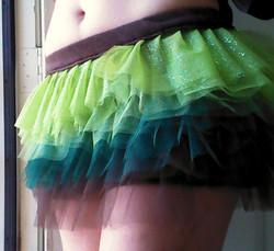 Tulle Skirt Grass