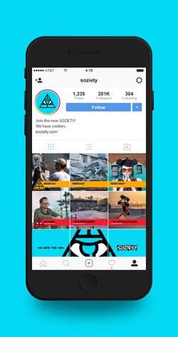 SOZIETY-Iphone-Social-Media-Profile-Mock