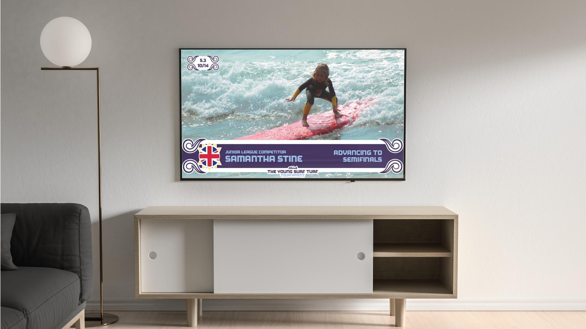 Slick-Junior-Surfer-Highlight-TV-Mockup.