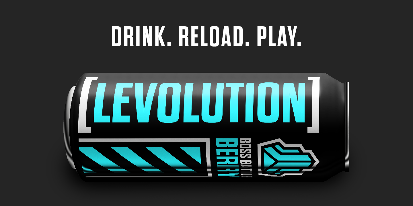 DRINK.-RELOAD.-PLAY.
