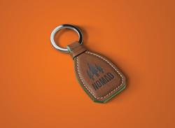 NOMAD-Leather-Keychain