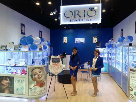 Congratulations for Grand opening new shop ORIO JEWELRY!