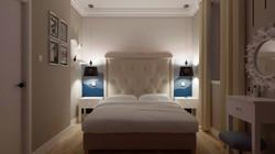 Romantyczna sypialnia.