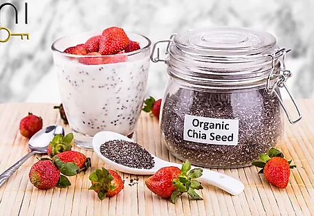 low carb : spiced chia seed pudding