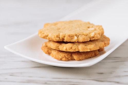 One Dozen Cookies : White Macadamia