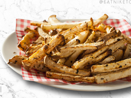 low carb : jicama fries