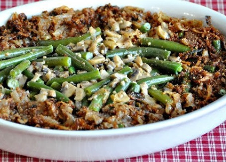 low carb thanksgiving : green bean casserole