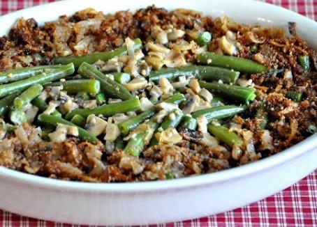 low carb thanksgiving : green bean casserole