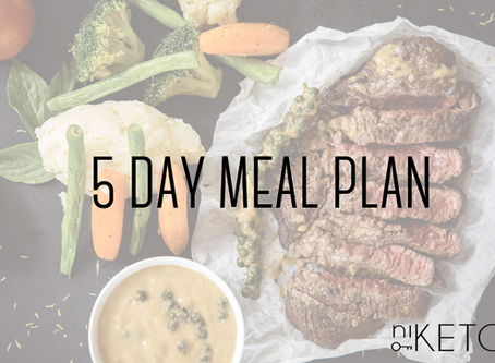 5 DAY EASY MEAL PLAN