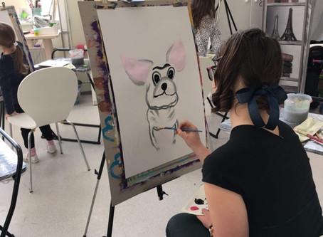 Курсы живописи для детей в Виимси Приглашаем в группы (🇷🇺) Регистрация и информация по тел. 5117055