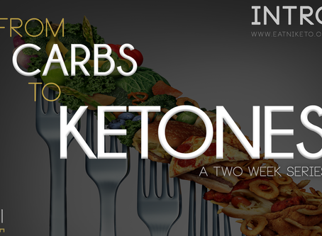 from carbs to ketones : my first two weeks on the keto diet