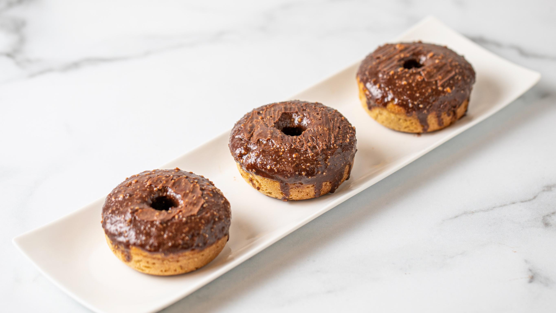 Chocolate Peanut Butter Donut