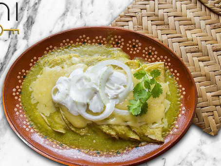 low carb : green chicken chili enchiladas