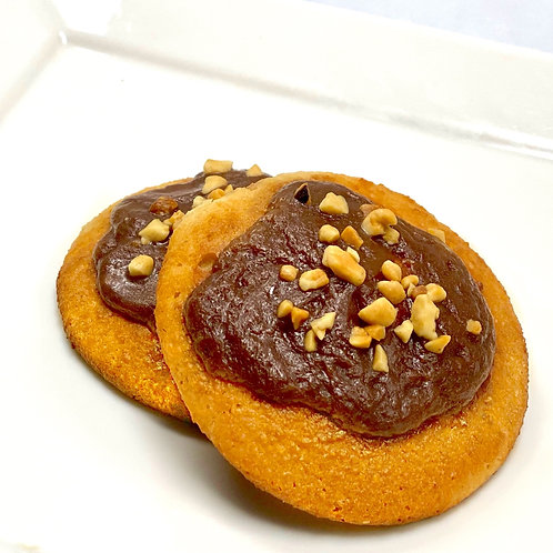 Peanut Butter Chocolate Coconut Cookie