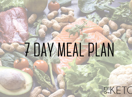 keto 7-day meal plan