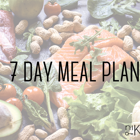keto 7-day meal plan