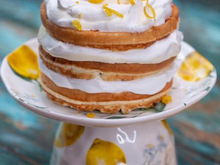 Keto Lemon Chaffle