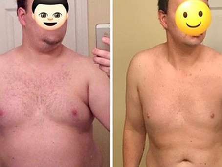 keto: transformation tuesday - rob