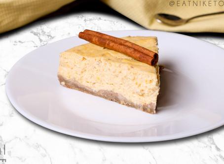 Low-Carb Pumpkin Cheesecake Pie