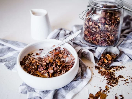 Nutty Chocolate Keto Granola