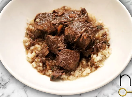 low carb : beef short rib