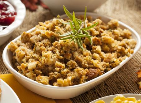 low carb thanksgiving : keto stuffing