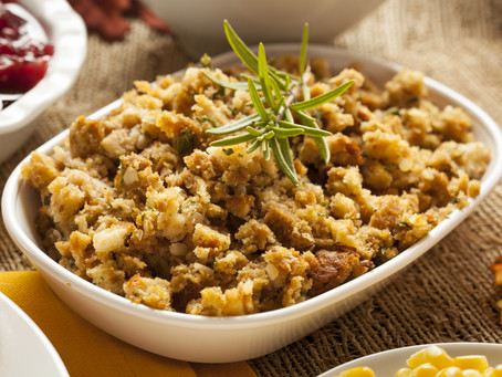 low carb thanksgiving : keto stuffing