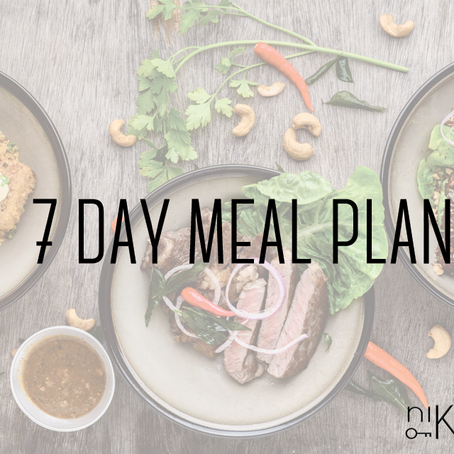 7 day keto meal plan for the whole family