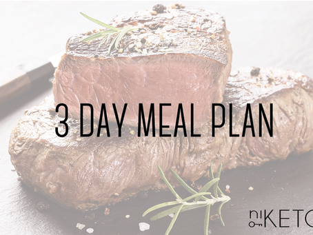 3 DAY COMFORT FOOD MEAL PLAN