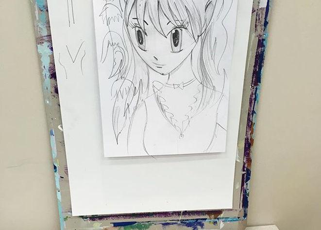 Создаём Аниме персонажа в #happyteenclub