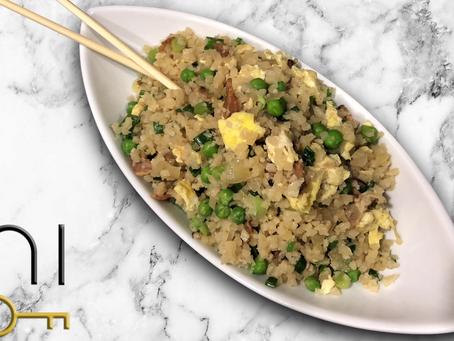 low carb : cauliflower fried rice
