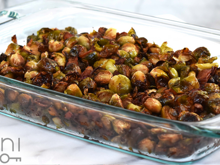 low carb : sauteed brussels sprouts with pancetta