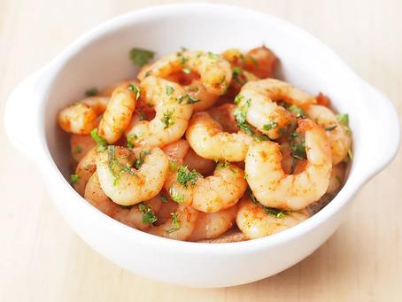 low carb : creamy cajun shrimp