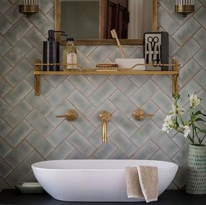 Brass Fixtures - Hottest Home Decor Trends - LIVV.co