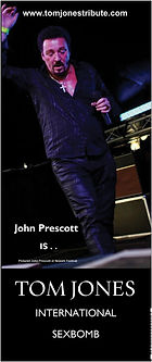 John Prescott is The BEST Tom Jones Impersonator in the World.