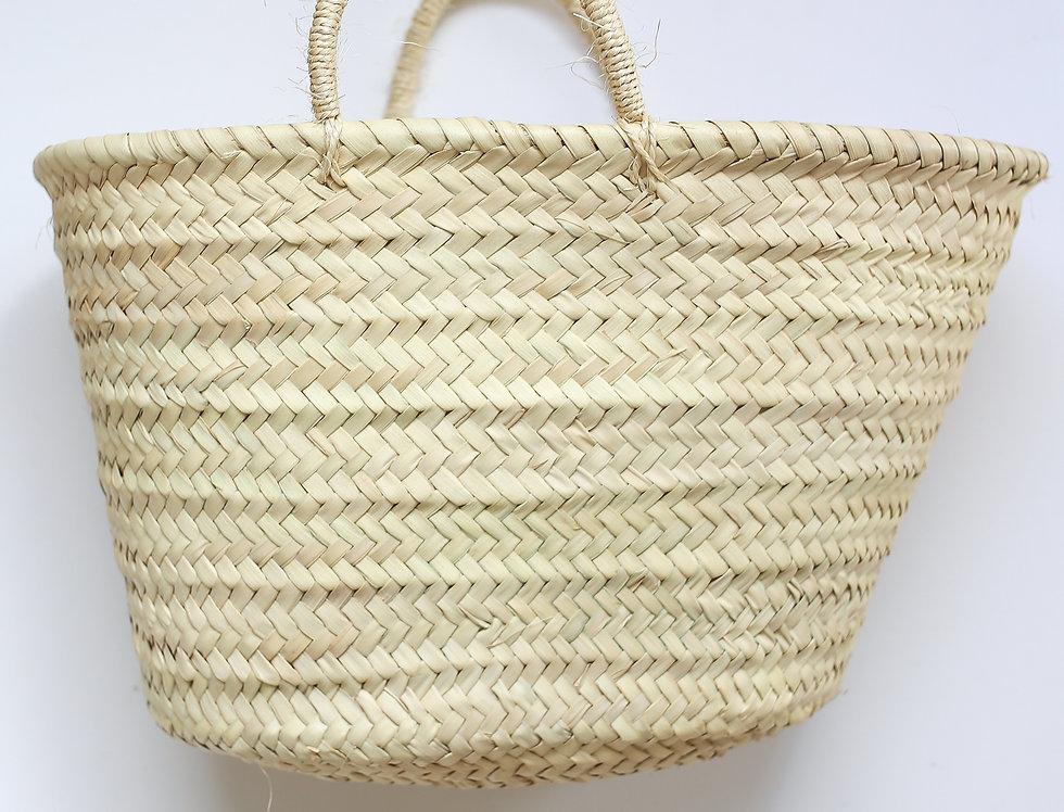 RAFFIA BASKET BAG BIG