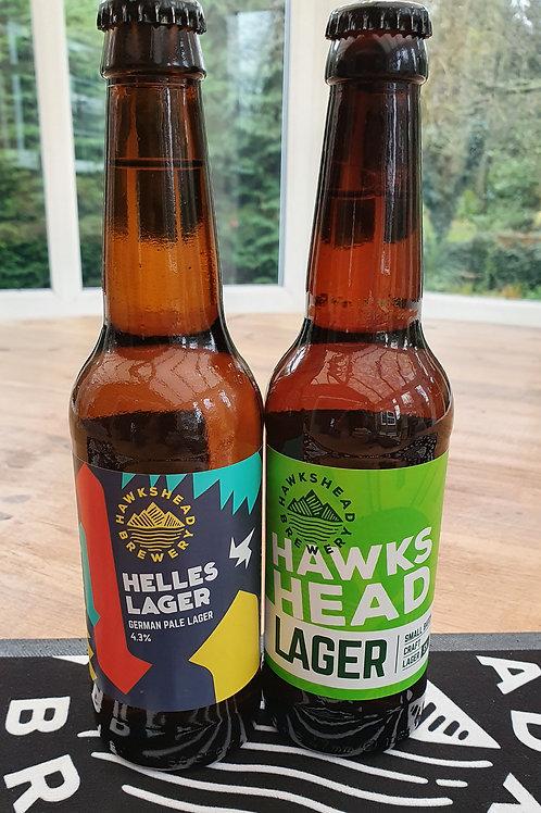 Hawkshead Lagers 330ml bottles - 2 types
